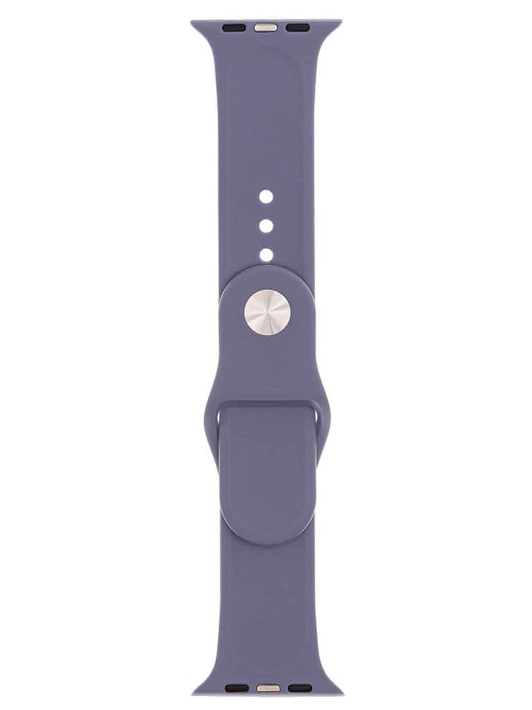 Аксессуар Ремешок Evolution для Apple Watch 42/44mm Sport Silicone Lavender Grey AW44-S01