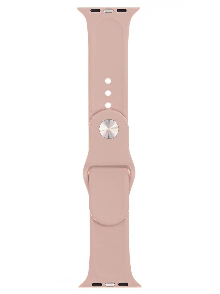 Аксессуар Ремешок Evolution для Apple Watch 42/44mm Sport Silicone Light Rose AW44-S01