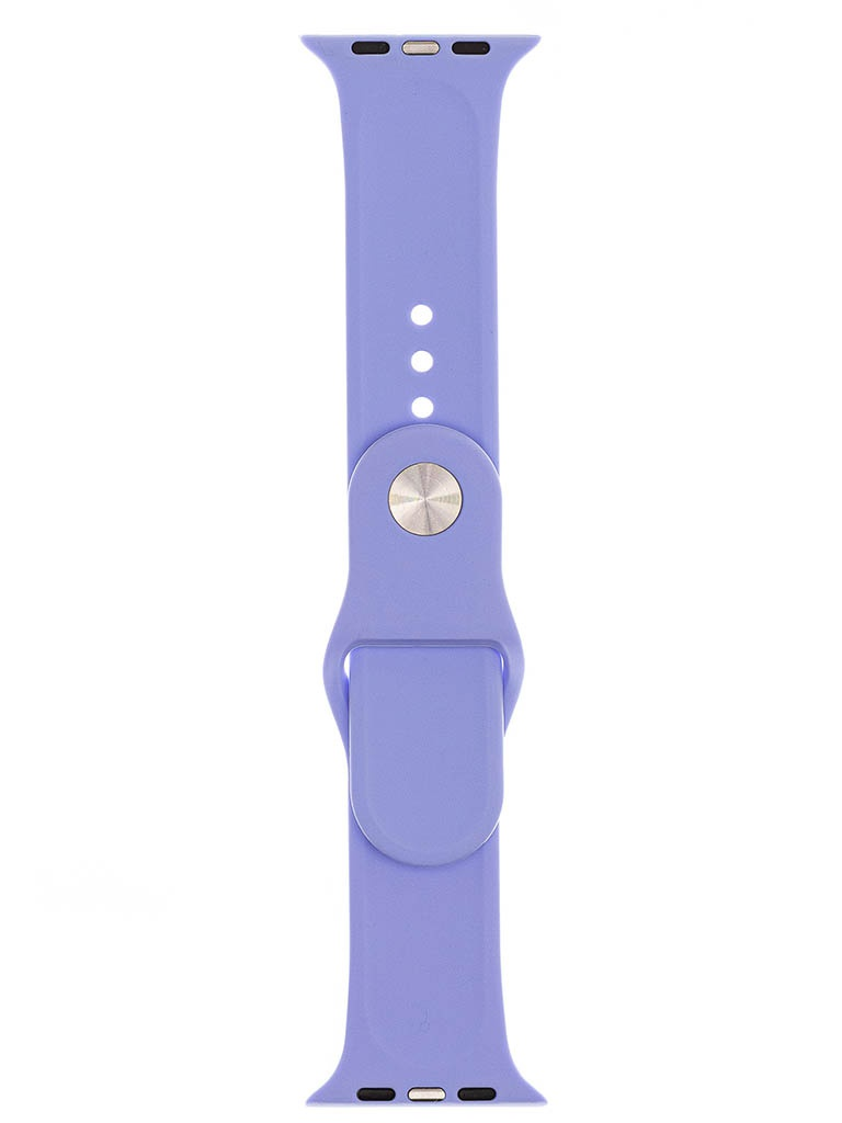 Аксессуар Ремешок Evolution для Apple Watch 42/44mm Sport Silicone Lilac AW44-S01