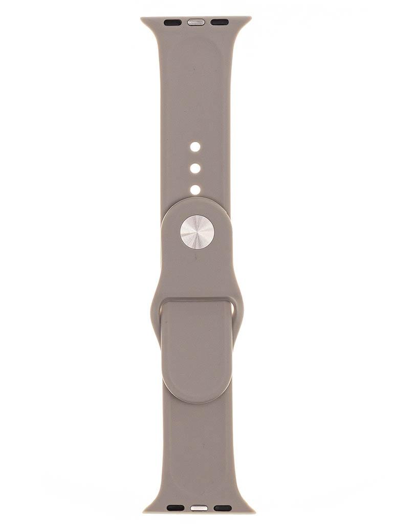 Аксессуар Ремешок Evolution для Apple Watch 42/44mm Sport Silicone Stone AW44-S01
