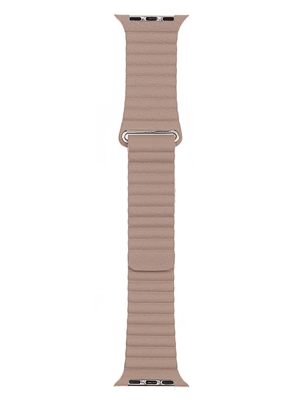 Аксессуар Ремешок Evolution для APPLE Watch 38/40mm Leather Loop AW40-LL01 Ivory 36830