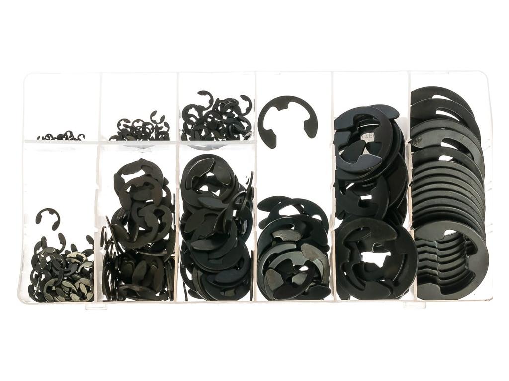 Набор стопорных колец СибрТех D 1.5 - 22mm 300шт 47601
