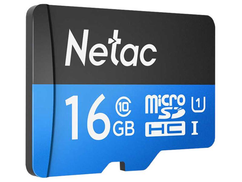 Фото - Карта памяти 16Gb - Netac microSDHC P500 NT02P500STN-016G-S карта памяти netac nt02p500stn 016g s