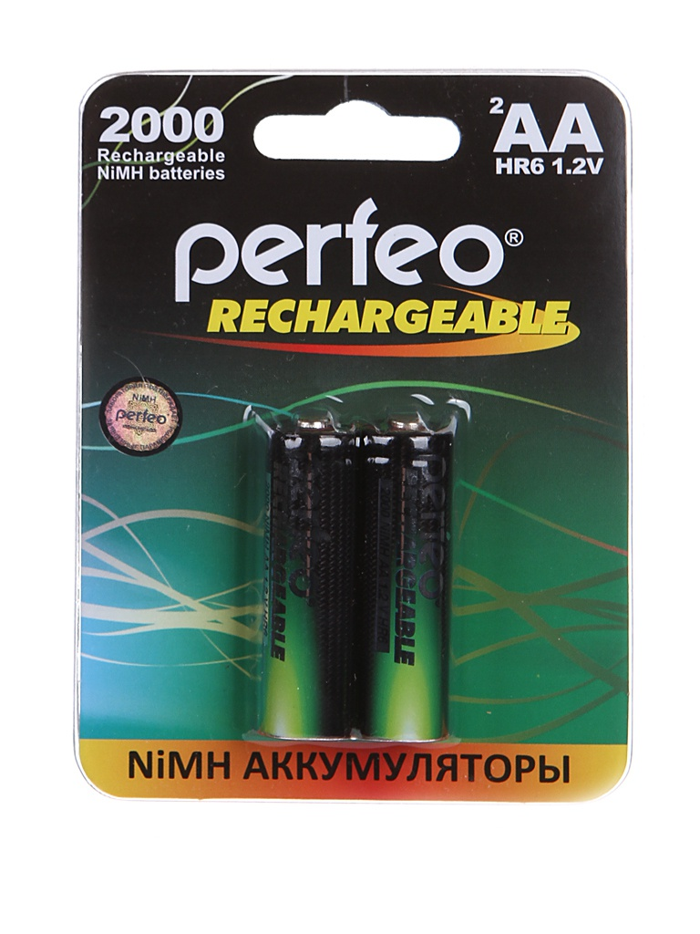 Аккумулятор AA - Perfeo 2000mAh (2 штуки) PF AA2000/2BL PL фонарь perfeo pf a4420