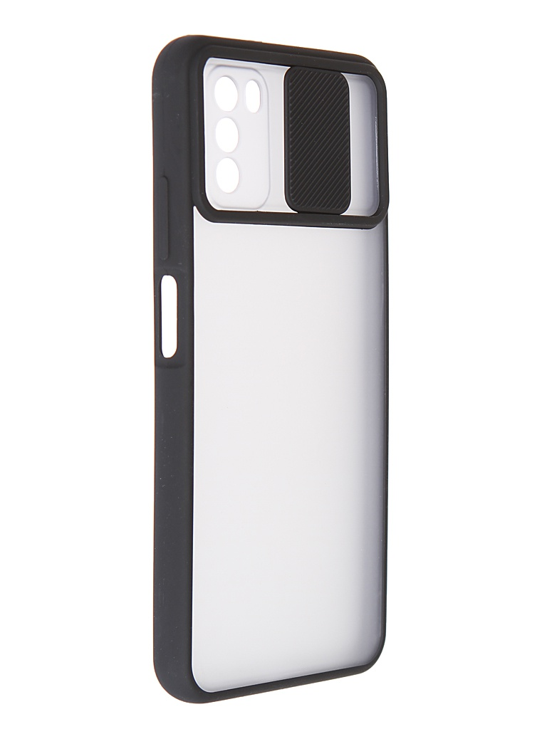 Чехол LuxCase для Xiaomi Poco M3 TPU+PC 2mm Black 63254