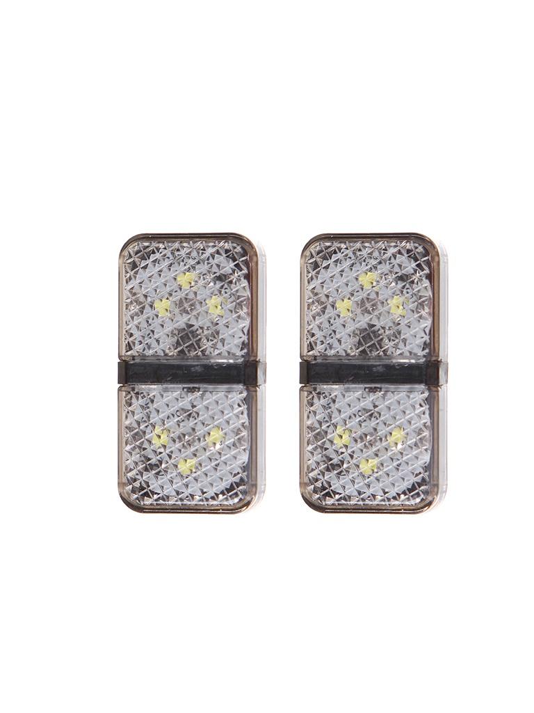 Сигнальная лампа открытия двери Baseus Door Open Warning Light 2pcs/pack Black CRFZD-01