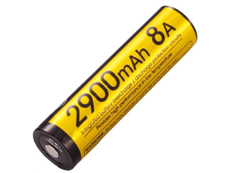 Аккумулятор 18650 - Nitecore Rechargeable NL1829LTHP Li-Ion 2900mAh 17040 / 1390216