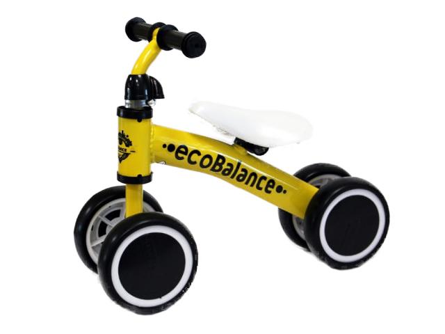 Беговел EcoBalance Baby Yellow