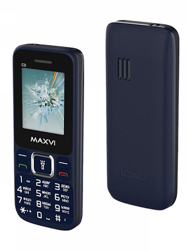 Фото - Сотовый телефон Maxvi C3i Marengo сотовый телефон maxvi b5 grey