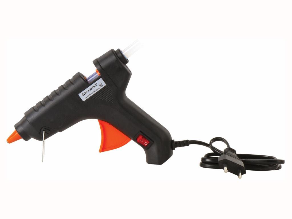 Термоклеевой пистолет Brauberg 60W 671053
