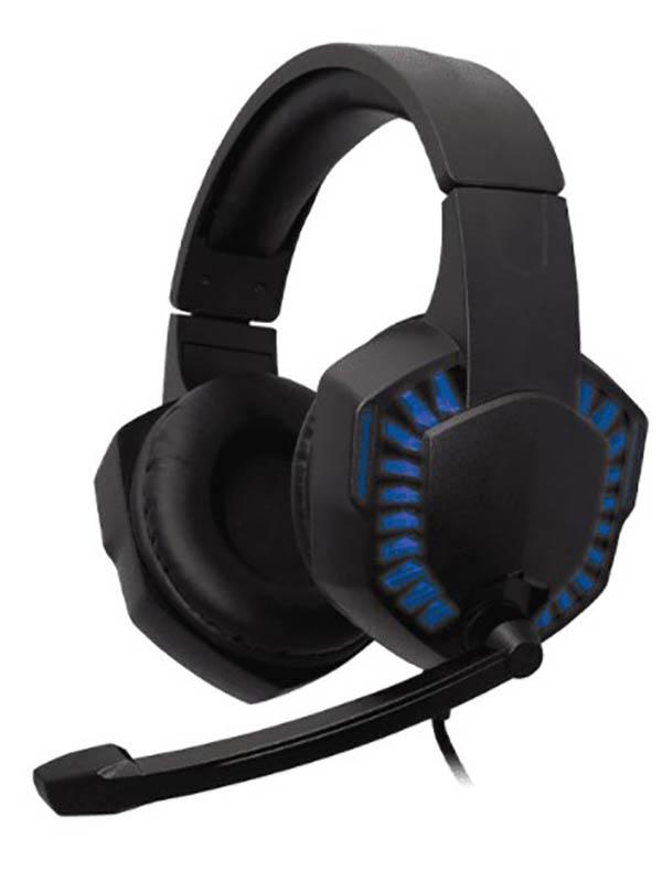 Наушники Ritmix RH-562M Gaming Blue наушники ritmix rh 566m gaming
