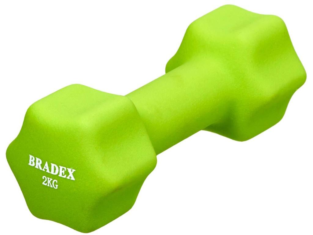 Гантель Bradex 2kg Light Green SF 0542