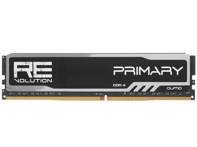 Модуль памяти Qumo ReVolution Primary DDR4 U-DIMM 3200MHz PC4-25600 CL16 - 8GB Q4Rev-8G3200P16Prim