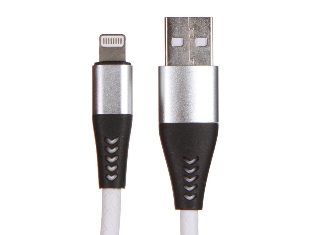 Фото - Аксессуар WIIIX USB - Lightning 1m White CB720-U8-2A-10W аксессуар wiiix usb lightning 1m white cb 716 u8 1 0 w