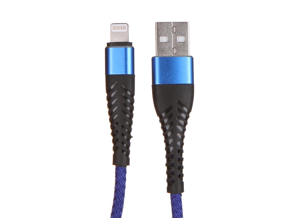 Фото - Аксессуар WIIIX USB - Lightning 1m Blue CB725-U8-10BU аксессуар wiiix usb lightning 1m white cb 716 u8 1 0 w