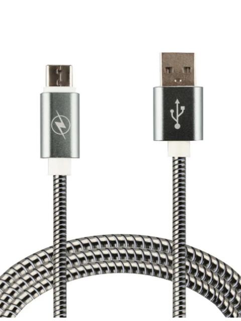 Фото - Аксессуар WIIIX USB - Type-C 1m Silver CB520-UTC-10S аксессуар wiiix usb type c 1m red cb340 utc 10r