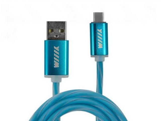 Фото - Аксессуар WIIIX USB - Type-C 1m Blue CBL710-UTC-10BU аксессуар wiiix usb type c 1m red cb340 utc 10r