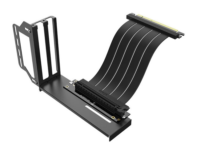 Аксессуар Переходник Akasa Vertical GPU Holder with Premium PCIe 3.0 Riser AK-CBPE02-20B
