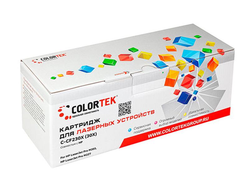 Картридж Colortek (схожий с НР CF230X) для HP LaserJet Pro M203/M227
