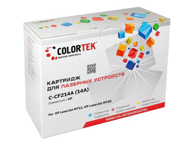 Картридж Colortek (схожий с HP CF214A) для LaserJet M712/M725