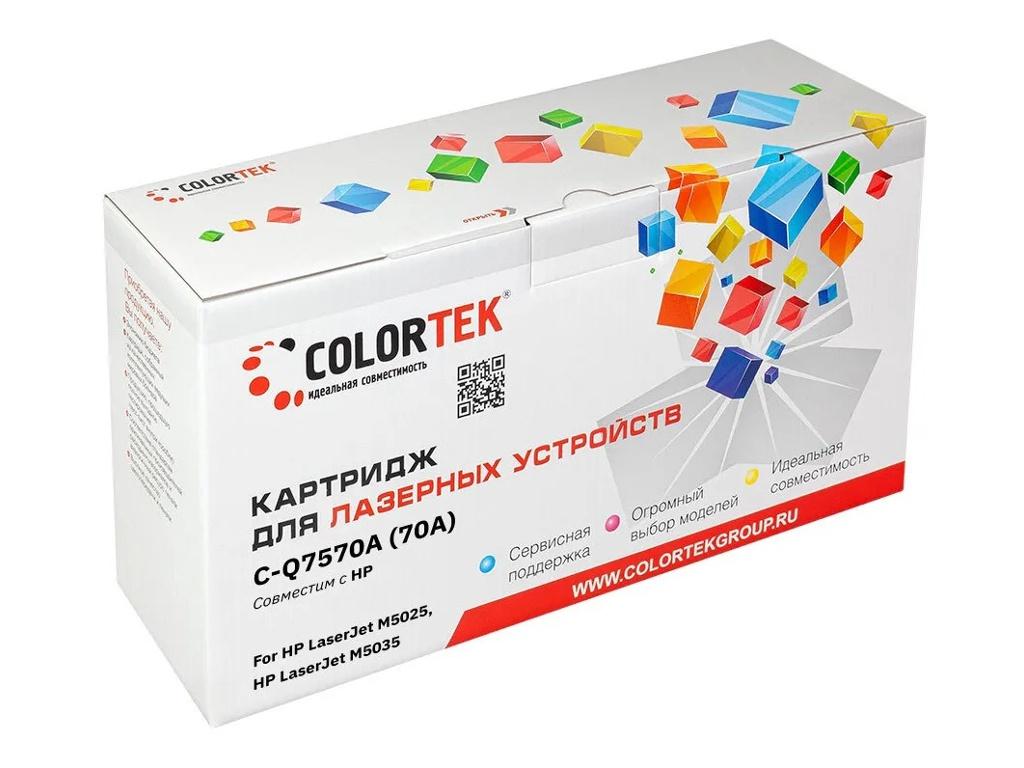 Картридж Colortek (схожий с HP Q7570A) для LaserJet M-5025/5035