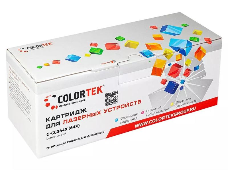 Картридж Colortek (схожий с HP CC364X) для LaserJet P-4015/4515