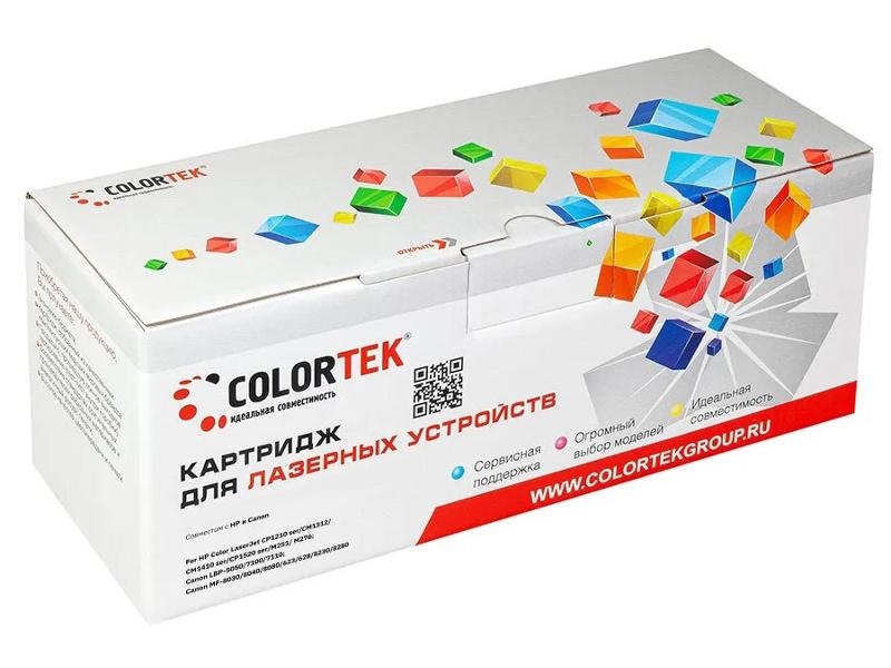 Картридж Colortek (схожий с HP CB542A 25A) Yellow для CLJ CP-1210/1215/1510/1515/1518