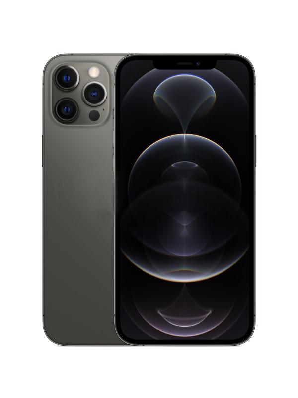 Фото - Сотовый телефон APPLE iPhone 12 Pro Max 128Gb Graphite MGD73RU/A Выгодный набор + серт. 200Р!!! сотовый телефон apple iphone 12 pro 256gb graphite mgmp3ru a