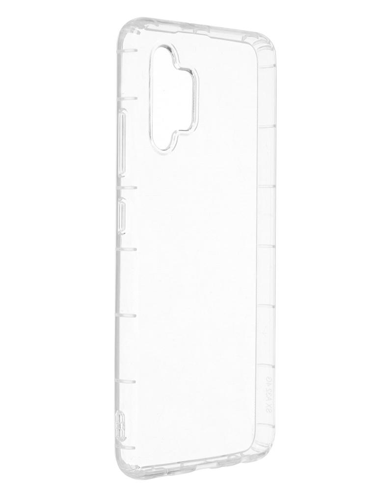 Чехол Zibelino для Samsung A32 Premium Quality Transparent ZUTCP-SAM-A325-TRN
