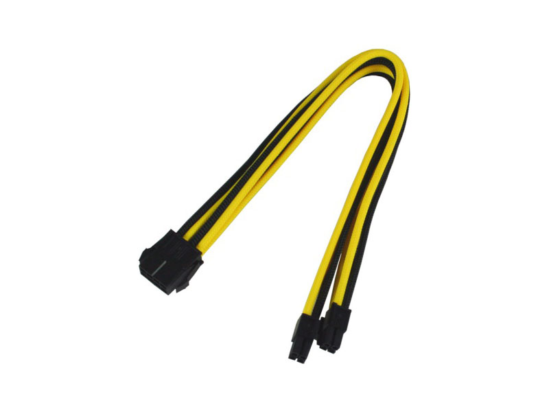 Аксессуар Удлинитель Nanoxia 8-pin EPS 30cm Black-Yellow NX8PV3ESG