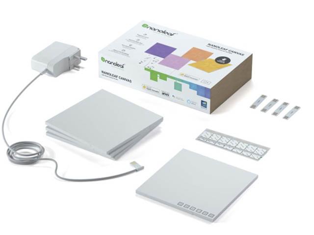 Светильник Nanoleaf Canvas Smarter Kits NL29-2012SW-4PK