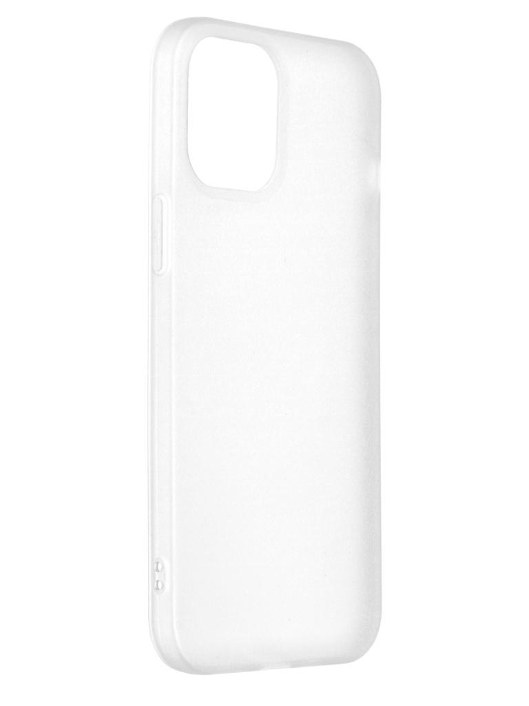 Чехол Red Line для APPLE iPhone 12 Pro Max White Translucent УТ000022241 чехол red line ibox crystal для apple iphone 12 pro max transparent