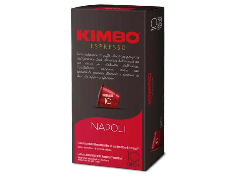 Капсулы Kimbo DG Napoli 10шт