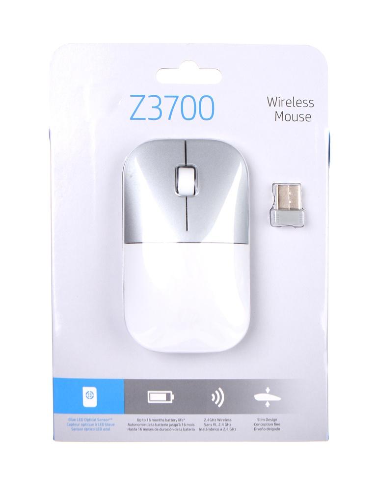 Мышь HP Z3700 White-Silver 171D8AA