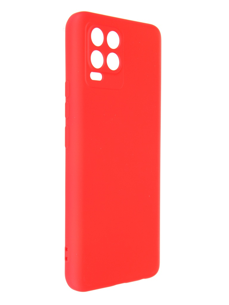 Чехол DF для Realme 8 / Pro Red rmOriginal-12