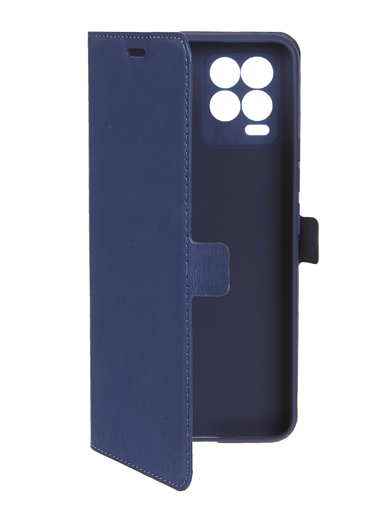 Чехол DF для Realme 8 / Pro Blue rmFlip-17