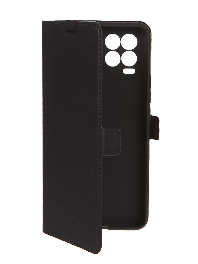 Чехол DF для Realme 8 / Pro Black rmFlip-17