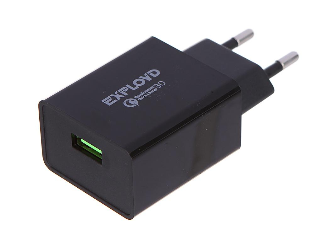 Зарядное устройство Exployd Rash 1хUSB 3A QC3.0 18W EX-Z-1146