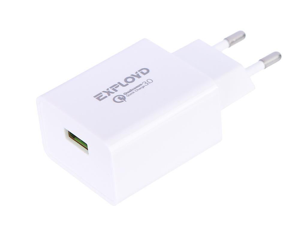 Зарядное устройство Exployd Rash 1хUSB 3A QC3.0 18W EX-Z-1147