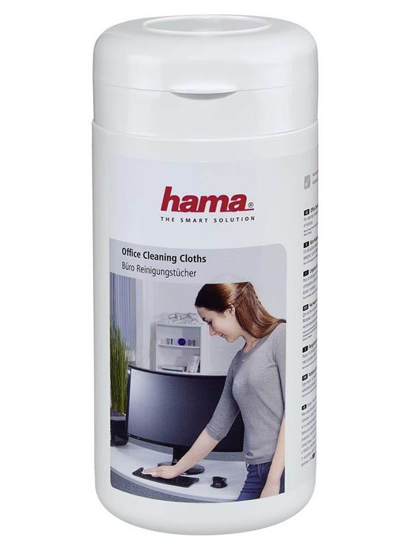 Салфетки влажные Hama Office Cleaning 100шт 00113805