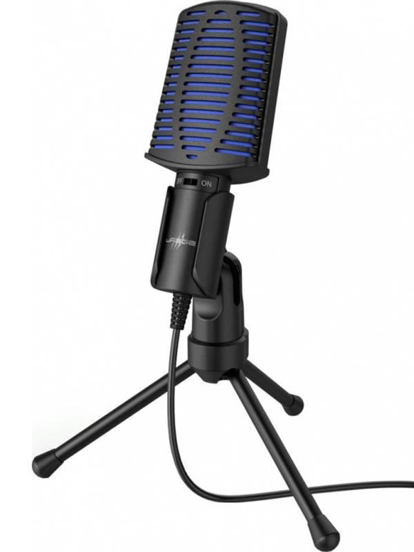 Фото - Микрофон Hama Stream 100 Black 00186017 микрофон проводной hama allround 00139906 2м black