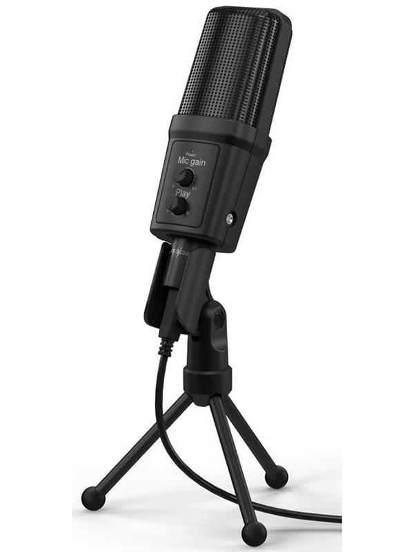 Фото - Микрофон Hama Stream 700 HD Black 00186019 микрофон проводной hama allround 00139906 2м black