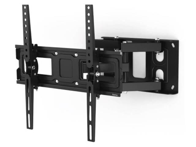 Кронштейн Hama Fullmotion TV (до 50кг) Black 00118125