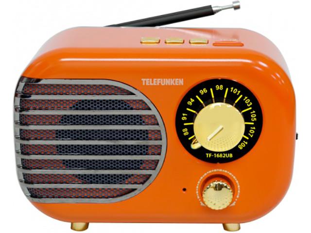 Радиоприемник Telefunken TF-1682B Orange-Gold