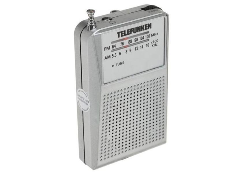 Радиоприемник Telefunken TF-1641 Silver