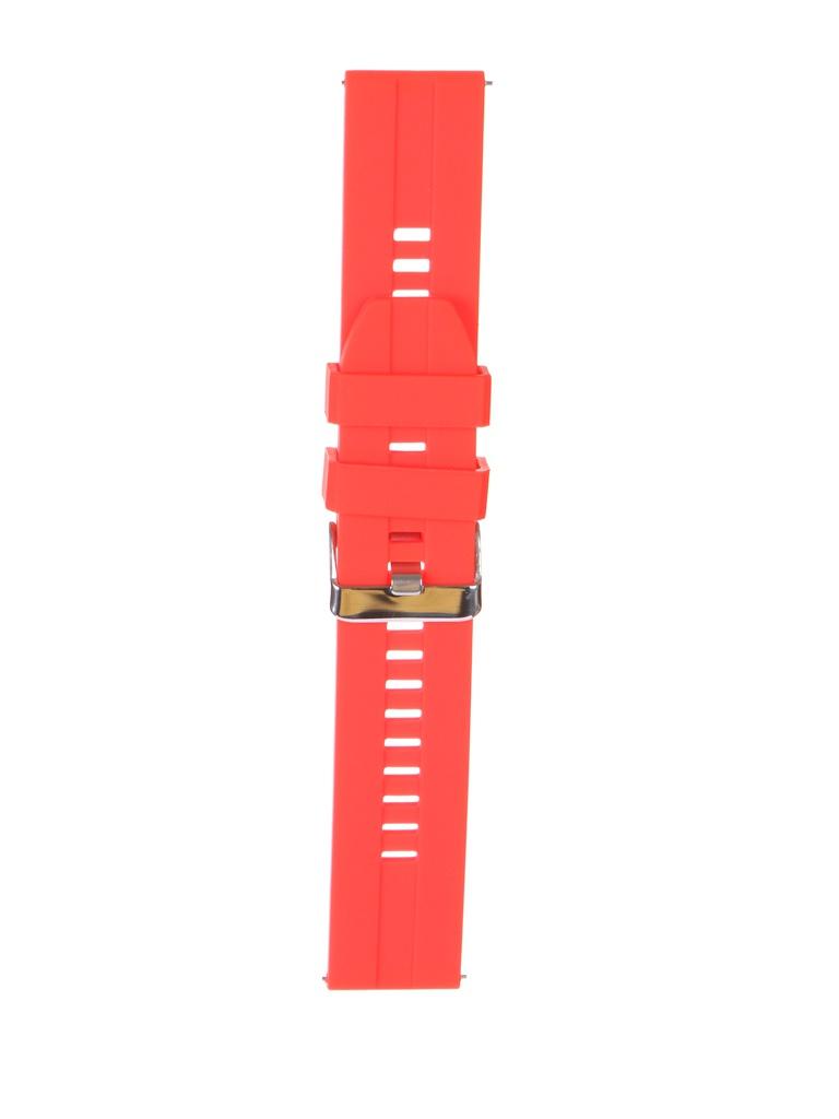 Аксессуар Универсальный ремешок Red Line 22mm Silicone Raised УТ000025262