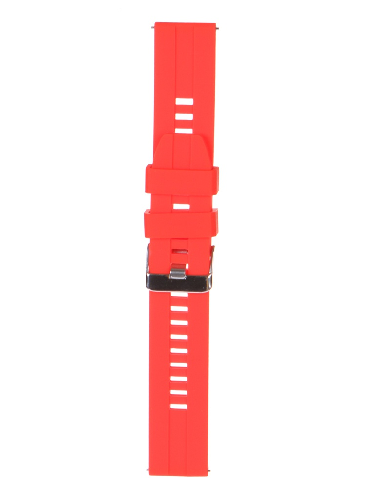 Аксессуар Универсальный ремешок Red Line 20mm Silicone Raised УТ000025261