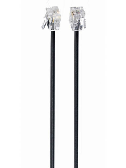 Сетевой кабель Gembird TC6P4C-2M 2m Black