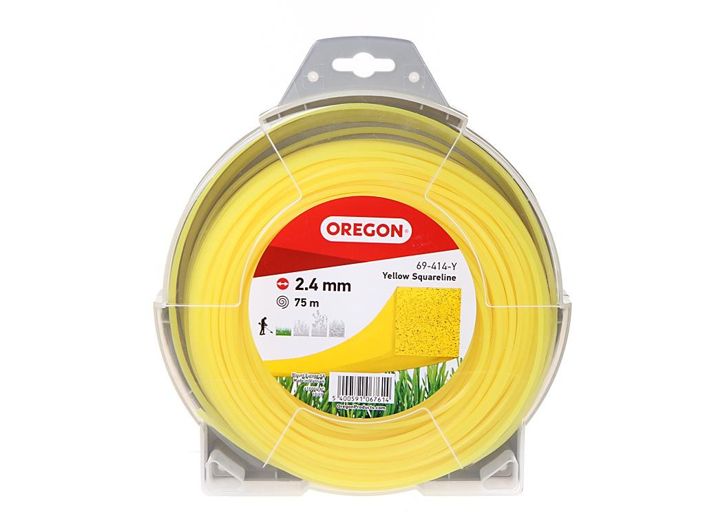 Леска Oregon 2.4mm x 75m Yellow 69-414-Y