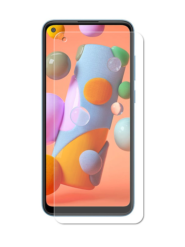 Антивандальное стекло Palmexx для Samsung Galaxy A11 / M11 UltraFit Full Glue PX/UFIT-SAM-A11